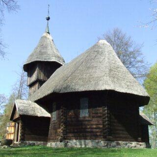 Kościół ze wsi Rychnowo.