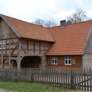 Chałupa ze wsi Królewo.