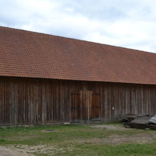 Stodoła ze wsi Bramka.