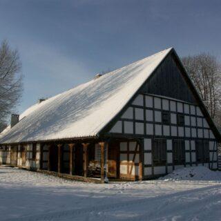 Karczma ze wsi Skandawa.