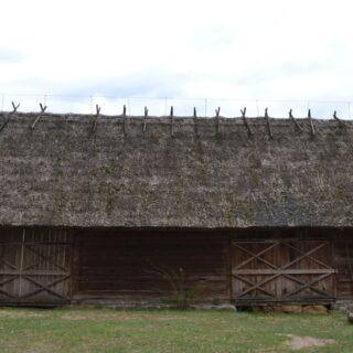 Stodoła ze wsi Jerutki.