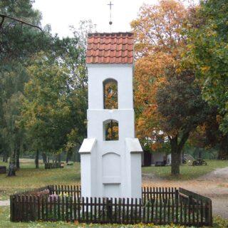 Kapliczka przydrożna ze wsi Giedajty.