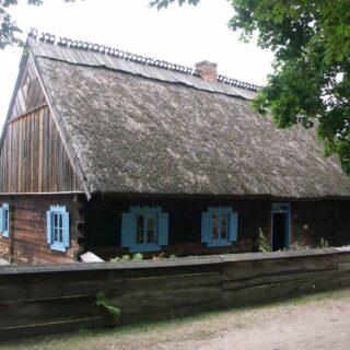 Chałupa nr 1 ze wsi Kaborno.