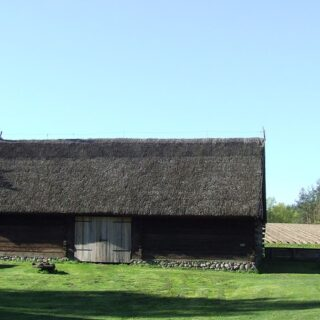 Stodoła ze wsi Marcinkowo.