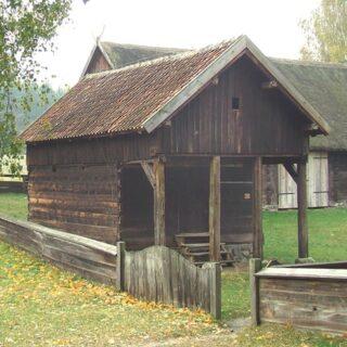 Spichlerz ze wsi Purdka.