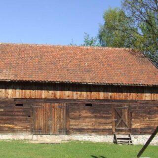 Stodoła ze wsi Stękiny.