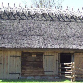 Obórka ze wsi Kaborno.
