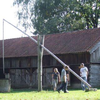 Wozownia z garncarnią ze wsi Tomaszkowo.