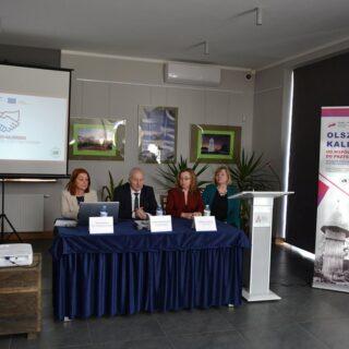 """Konferencja dotyczącą projektu pt. """"Olsztynek-Kaliningrad."""