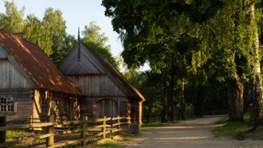 Zdjęcie przedstawia Zajazd ze wsi Małszewo.