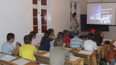 Klasa podczas lekcji.