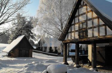 Muzeum zimą.
