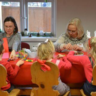 Warsztaty dla dzieci prowadzone przez pracowników Muzeum.