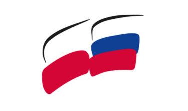 Na zdjęciu flaga Polsko-Rosyjska.
