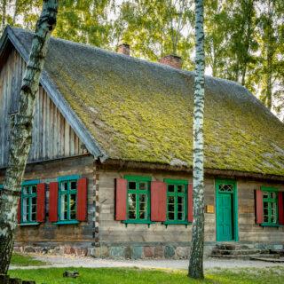 Szkoła ze wsi Pawłowo.