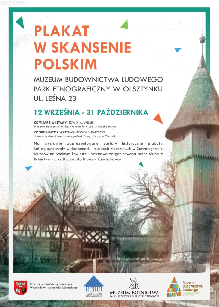 Plakat wskansenie polskim - plakat