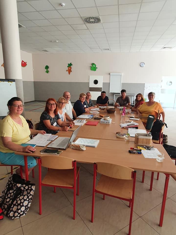 Spotkanie członków projektu wPasłęku
