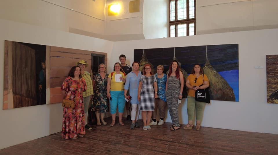Spotkanie członków projektu wSkansenie