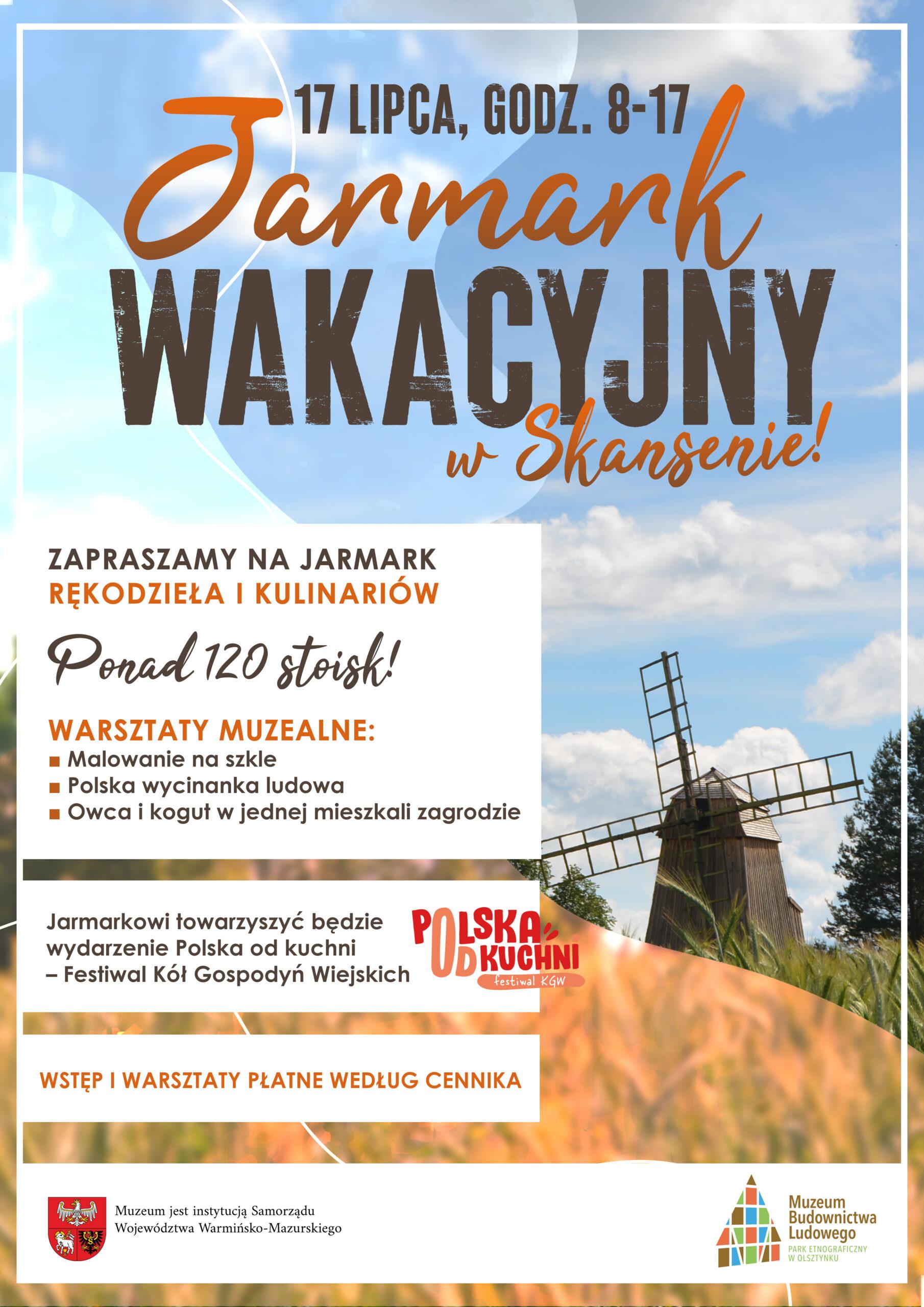 Jarmark wakacyjny i Polska od kuchni!