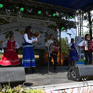Występ Kapeli Ludowej Śparogi