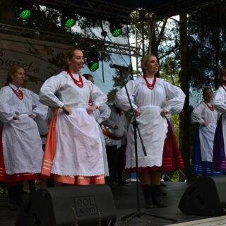 Występ Zespołu Folklorystycznego Polka.Dot