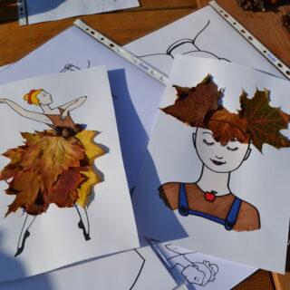 Prace wykonane przez dzieci na warsztatach plastycznych